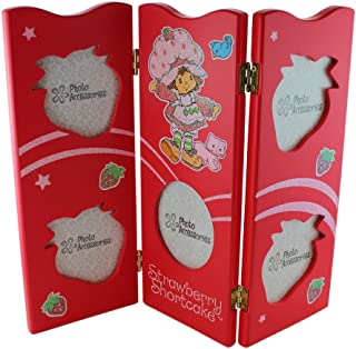 AMERICAN GREETINGS Red Strawberry Shortcake Picture Frame - Girls Picture Frames