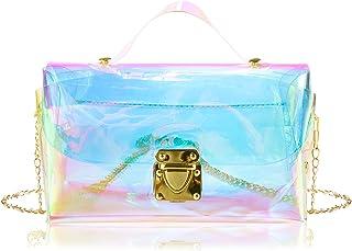 Jolintek Umhängetasche, Kleine Schultertasche, PU Tasche Clutch Bag, Handtasche Umhängetasche für Mädchen