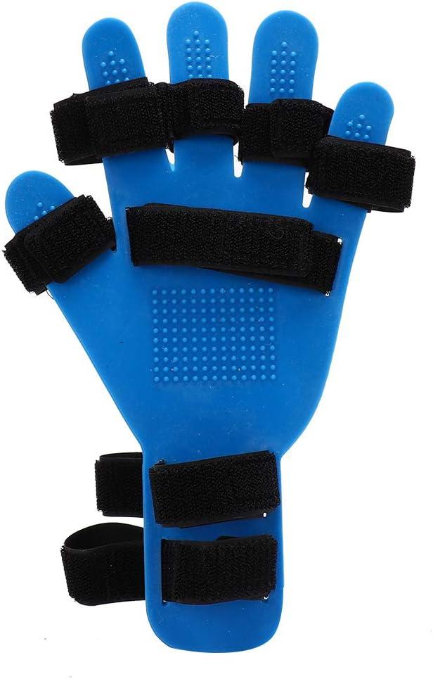 Ortesis de dedo, diapasón de tipo extendido para apoplejía/hemiplejía Soporte de entrenamiento de férula de mano Aprox.28x13.5cm