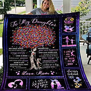 ♡♡♡Soft And Comfortable --------The material is made of 100% polyester flannel. Unbelievably fluffy and warm – this high quality blanket is impossible to leave behind, wherever one might go. The perfect size for snuggling on the couch, by the firepla...