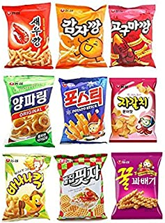 NongShim Snack Mixed 10 Sets (Korean Snack) No.1