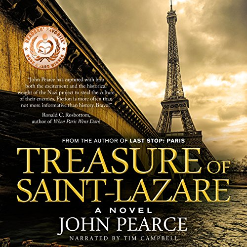Treasure of Saint-Lazare Audiobook By John Pearce cover art