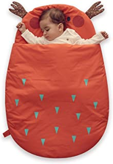 Bebamour Anti Kick Saco de dormir para bebés Noches seguras Saco de dormir de algodón para bebés 2.5 Tog Lindo saco de dor...
