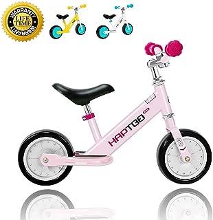 Balance Bike - 7 & 12 in Kids Training Bike for 1 2 3 4 Year Old, Height Adjustable Walking Bike, for Kids
