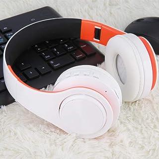 MDHANBK Auriculares Bluetooth inalámbricos, Auriculares con Brazo de Metal, subwoofer con micrófono