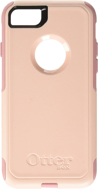 OtterBox COMMUTER SERIES Case for iPhone SE (2nd Gen - 2020) & iPhone 8/7 (NOT PLUS) - Retail Packaging - BALLET WAY (PINK SALT/BLUSH)