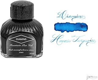 Diamine Fountain Pen Ink, 80 ml Bottle, Havasu Turquoise
