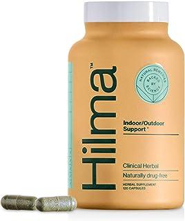 Natural Sinus Support by Hilma - Clinically Proven Nettles, Spirulina & Tinospora - Seasonal Allergy Relief...