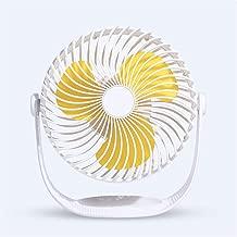 Mmyu Mini Fan Desktop USB Electric Fan Portable USB Electric Fan White Non-Rechargeable Portable Portable