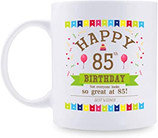 85th Birthday Gifts for Women - 1934 Birthday Gifts for Women, 85 Years Old Birthday Gifts Coffee Mug for Mom, Wife, Friend, Sister, Her, Colleague, Coworker - 11oz