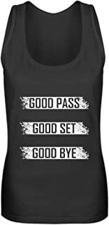 Voleibol retro diseño & divertido frase – Sport jugador pelota Team Team Verein Cooles Ges – Camiseta de tirantes para mujer