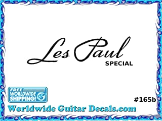 Gibson Les Paul Special Guitar Decal Headstock Waterslide Restoration logo 165b