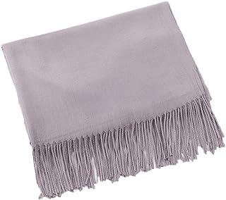 ZFADDS Scarf Unisex Female Male Wool Cashmere Scarf Pashmina Tassels Women Men Wrap Shawl