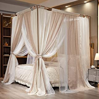 Amazon Com 200 Above Bed Canopies Drapes Bedding Home Kitchen