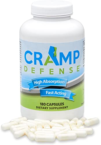 Cramp Defense® Magnesium for Leg Cramps, Muscle Cramps & Muscle Spasms. End Them Fast and Permanently. Organic Magnes...