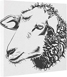 Best black and white sheep drawing Reviews
