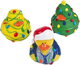 12 ct - Tangled Christmas Lights Rubber Duckys