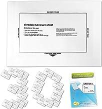 $20 » Shredder Lubricant Sheets, Paper Shredder Sharpening, Paper Shredders Lubricating Sheets, Shredder Cleaning Sheets (30 Pack)