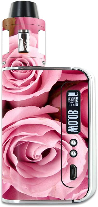 New Shipping Free Shipping MightySkins Skin Compatible with Smok OSUB 4 years warranty Plus – 80W Pink Roses