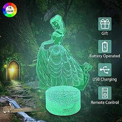 Flow.month 3D Illusion Lamp Night Light