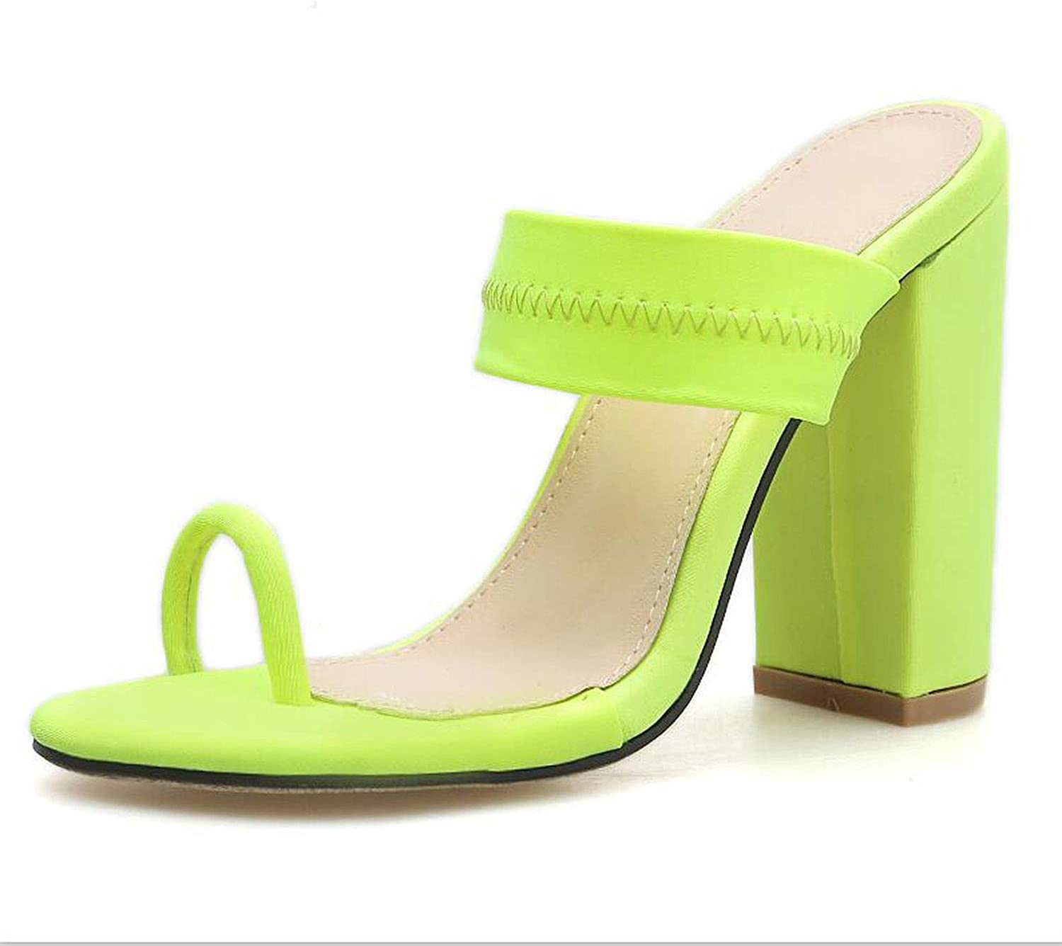 Sheep 2019 New Summer Sandals Slippers Thin High Heels Sandals Flip Flop Buckle Hollow shoes Sexy Slippers