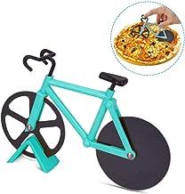 Gobesty Taglierina per Pizza per Bicicletta, taglierina per Pizza in Acciaio Inossidabile per affettatrice per Pizza per Cucina Domestica, Blu