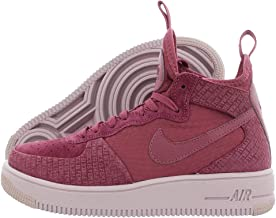 Nike Womens Airforce 1 Ultraforce Hight Top Lace Up Fashion, Purple, Size 6.0