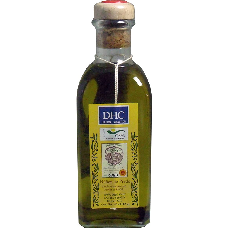 ちょうつがいこれら著名なDHC 食用エクストラバージンオリーブオイル ヌニェス?デ?プラド 500mL【4個セット】