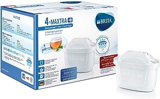 BRITA, Cartouche Filtrante pour Carafe, MAXTRA+ Haute Performance (Nouvelle Formule) - Pack 4
