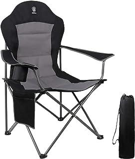 Xinwoer Chaise Pliante avec Sac de Rangement Tabouret de si/ège Pliant Respirant Portable pour la p/êche Camping Plage de Pique-Nique