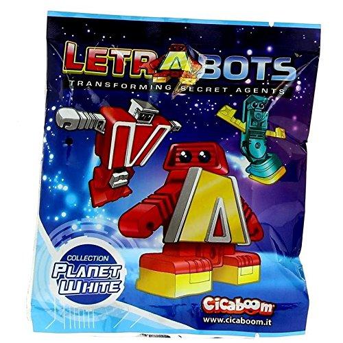 LETRABOTS LAS LETRAS QUE SE TRANSFORMAN EN ROBOTS! SOBRES SORPRESA!