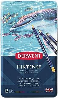 ダーウェント 水彩 色鉛筆 インクテンス ペンシル 12色セット 0700928