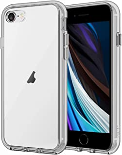 JETech Case Compatible with iPhone 8, iPhone 7, iPhone SE 2020, 4.7-Inch, Shockproof Bumper Cover, Anti-Scratch Clear Bac...