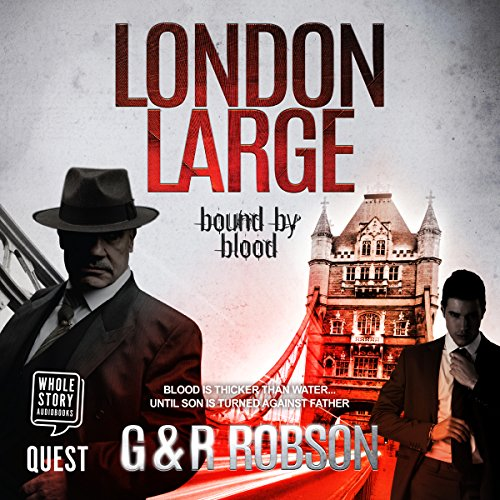 London Large: Bound by Blood audiobook cover art