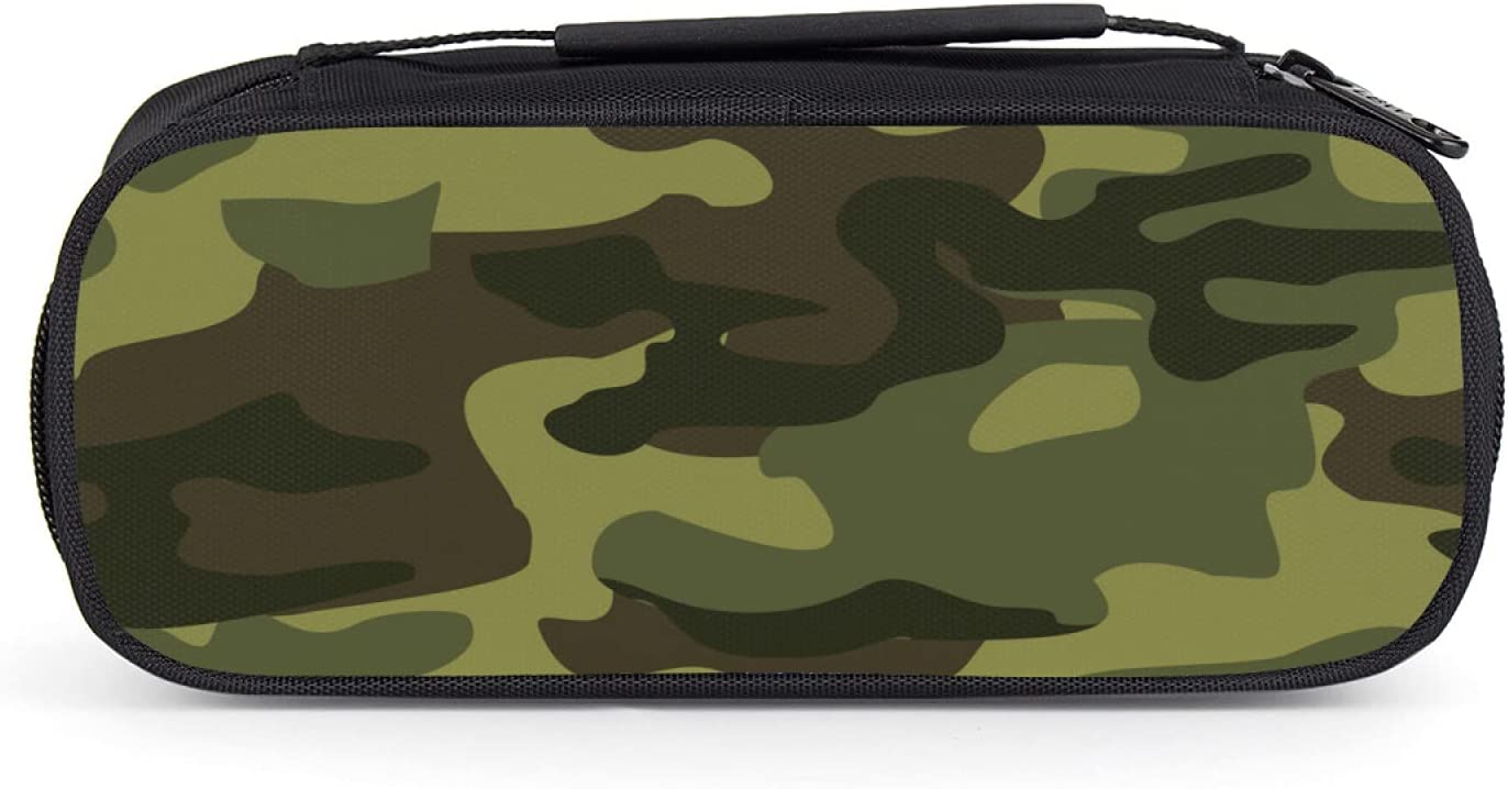 OcuteO Max 60% OFF Hunting Colorado Springs Mall Green Camo Camouflage Pen Holder Pe Large Pattern
