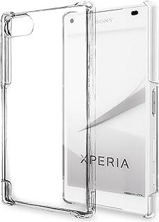 natura(ナチュラ) Xperia Z5 Compact ハードケース カバー クリア 透明 耐衝撃  エクスペリア docomo SO-02H
