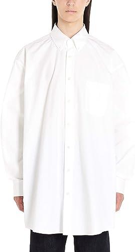 MAISON MARGIELA Homme S50DL0387S49616100 Blanc Coton Chemise