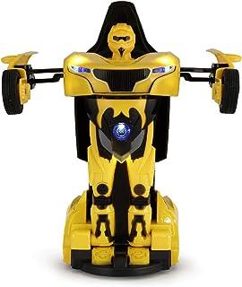 لعبة سيارة متحولة الى روبوت بريموت كنترول من راستار 61800 - احمر