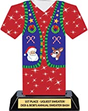 Ugly Christmas Sweater Party Trophy - Tacky Sweater Award