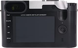 Haoge THB-LS Metal Hot Shoe Thumb Up Rest Thumbs Up Hand Grip for Leica Q Q-P QP Typ116 Typ 116 Camera Silver