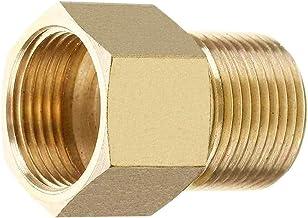 Stone Banks Messing Hogedrukreiniger Koppeling, Metrisch M22 15mm Mannelijk naar M22 14 / 15 mm Binnendraad Connector Binn...