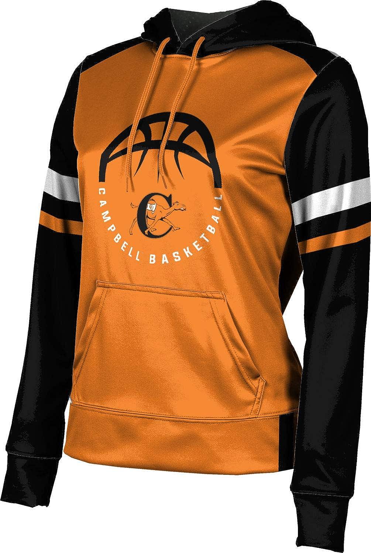 Campbell University Basketball Girls' Pullover Hoodie, School Spirit Sweatshirt (Old School)