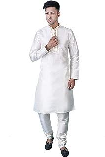 ShalinIndia Indian Fashion for Men Kurta Pajama Party Dress for Wedding Anniversary