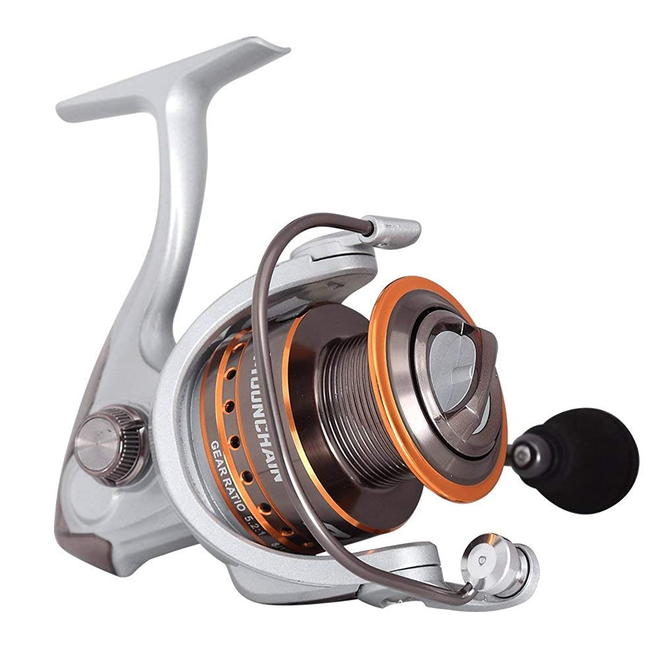 一方、スラムベックスMounchain Spinning Reel Ultra Light Weight Smooth Fishing Reels, Powerful Carbon Fiber Drag, Up to 25 Lbs/ 11.5 Kg Drag リール 141[並行輸入]