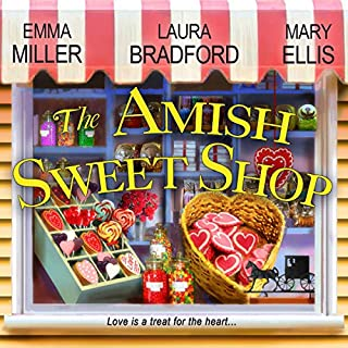 The Amish Sweet Shop audiobook cover art