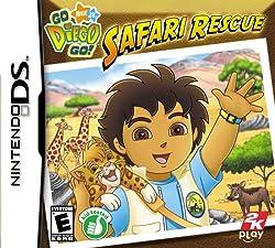 Go Diego Go: Safari Rescue - Nintendo DS: Artist Not Provided: Video Games