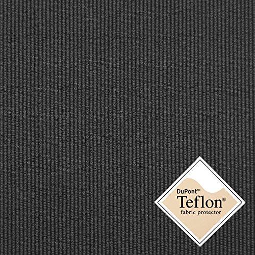 Breaker Light - leichter Feincanvas Stoff mit Teflon® Imprägnierung - Meterware (anthrazit)