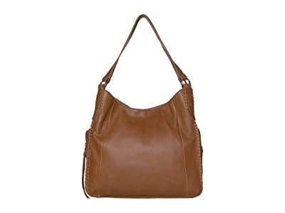 The Sak Salinas Triple Compartment Hobo by The Sak Collective (Tobacco) Handbags