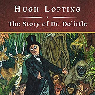 The Story of Dr. Dolittle audiobook cover art