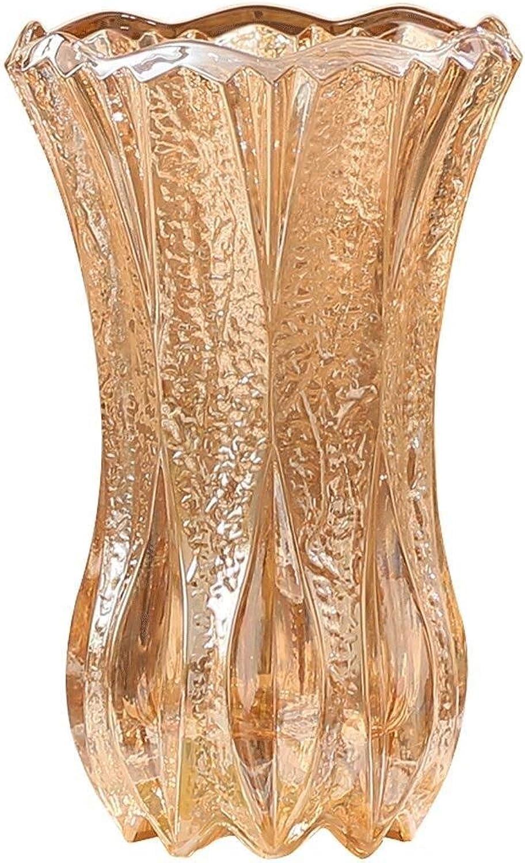 LQQGXL Vase en céramique Fait Main Fleur Vase Cristal Fleur en Verre inséré Faux Fleur Vase Maison décoration créative décoration